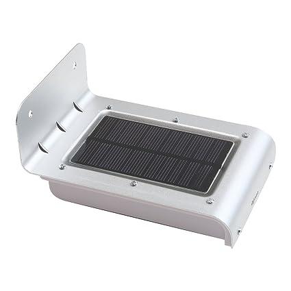 Kosee Lucerna Foco Solar Luz 16 LED Inalámbrico con Sensor de Movimiento para Exteriores incluyendo patio