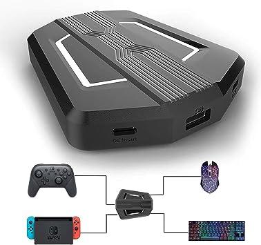 BRHE - Adaptador de Teclado y ratón para Xbox One, Nintendo Switch, PS4, PS3, Xbox 360: Amazon.es: Electrónica