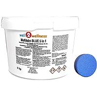 well2wellness Chlor Multitabs Blue 5 in 1 / Blaue Multitabs 5 in 1 200g - 3,0 kg