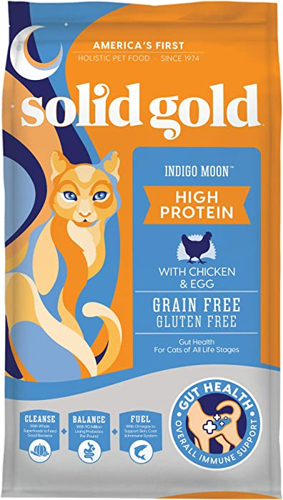 Top 8 Solid Gold Chicken Dry Cat Food