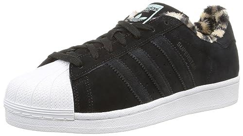 Zapatillas adidas - Superstar W Negro/Negro/Negro: Amazon.es: Zapatos y complementos