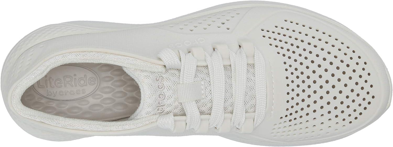 Crocs Women's LiteRide Pacer Sneaker | Comfortable Sneakers for Women voor dames Sneaker Bijna wit