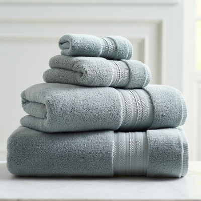 Luxe Seaglass Bath Towel | Pier 1 Imports