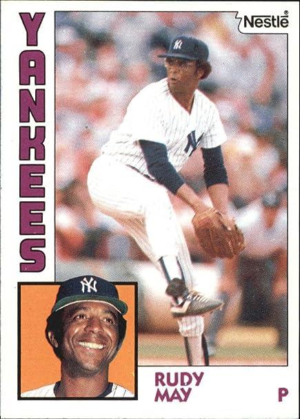 1984 Nestle 792 652 Rudy May Baseball Card