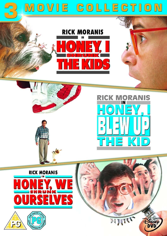 Honey I Shrunk The Kids Honey I Blew Up The Kid Honey We Shrunk Ourselves Dvd Amazon Co Uk Bug Hall Allison Mack Theodore Borders Daniel Shalikar Jojo Adams Joshua Shalikar Robin