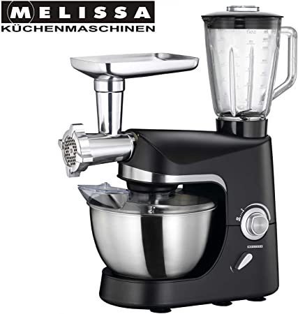 MELISSA 1200 W Robot de Cocina con Carne Wolf/licuadora 5L batidora amasadora: Amazon.es