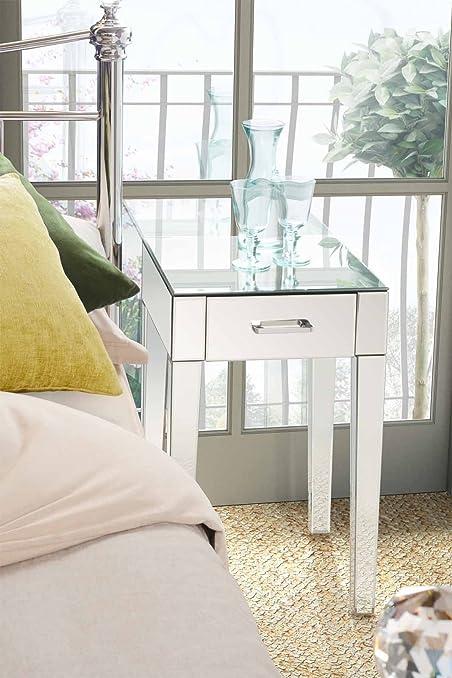 My-Furniture - ZOE - 2 Comodini/tavolini per camera da letto a ...