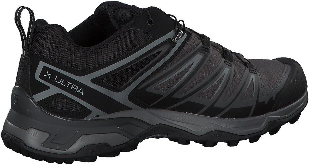 SALOMON X Ultra 3 GTX, Zapatillas de Senderismo Hombre, Negro (Black/Magnet/Quiet Shade), 40 2/3 EU: Amazon.es: Zapatos y complementos