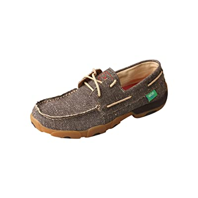 Twisted X Men's ECO TWX Driving Moccasins - Dust | Loafers & Slip-Ons