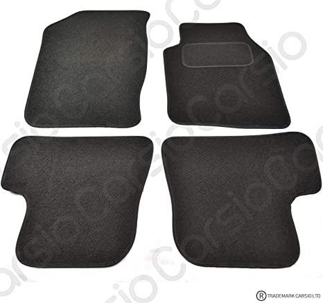 Tailored Black Carpet 4 Piece Floor Mats