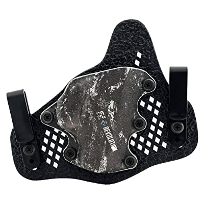 StealthGearUSA SG-REVOLUTION IWB Mini Holster - Tuckable, Adjustable, Inside Waistband Concealed Carry Holster - Made in USA
