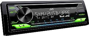 JVC KD-T915BTS - CD Receiver Featuring Bluetooth, Front & Rear USB, AUX, Amazon Alexa, SirusXM Ready