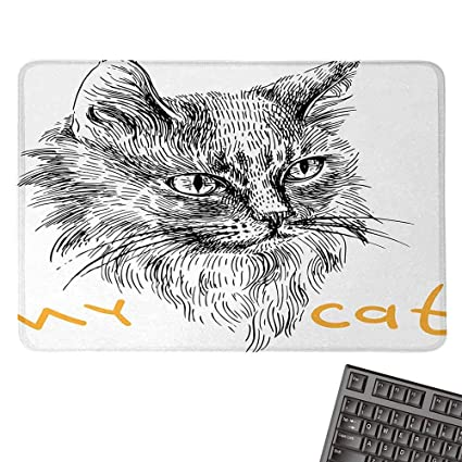 Amazoncom Animale Sports Gaming Mouse Padink Sketch Hand Drawn