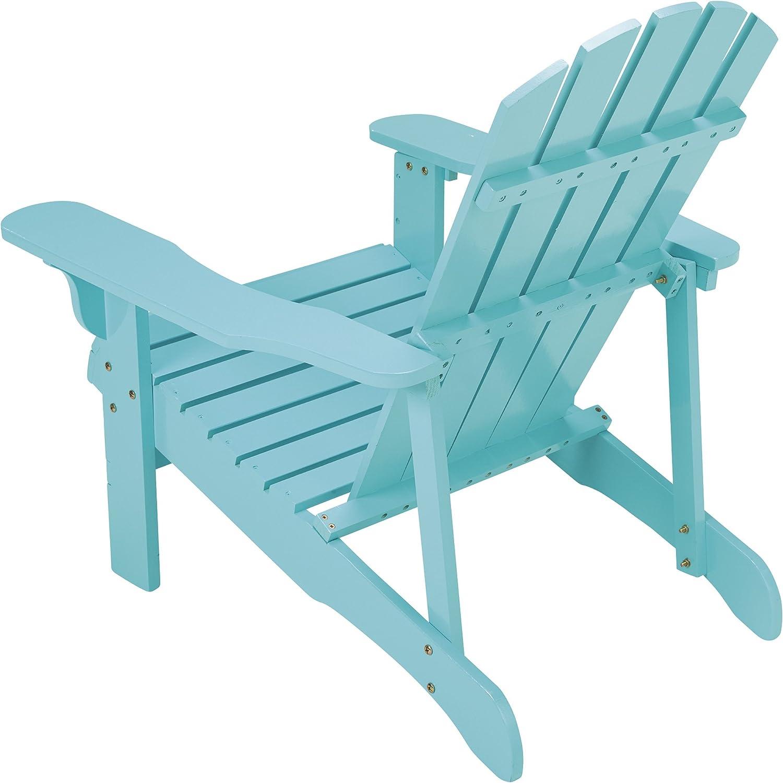 Amazon.com: Leigh Country Adirondack - Silla, Turquoise ...
