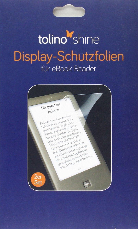 Tolino Shine Displayschutzfolie Doppelpack Unbekannt Bücher