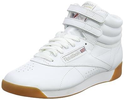 bc7641bd813 Reebok Damen Freestyle Hi Fitnessschuhe Mehrfarbig (White Gum 000) 42.5 EU