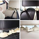 Car Vehicle Back Seat Hidden Hook,2 PCS Universal