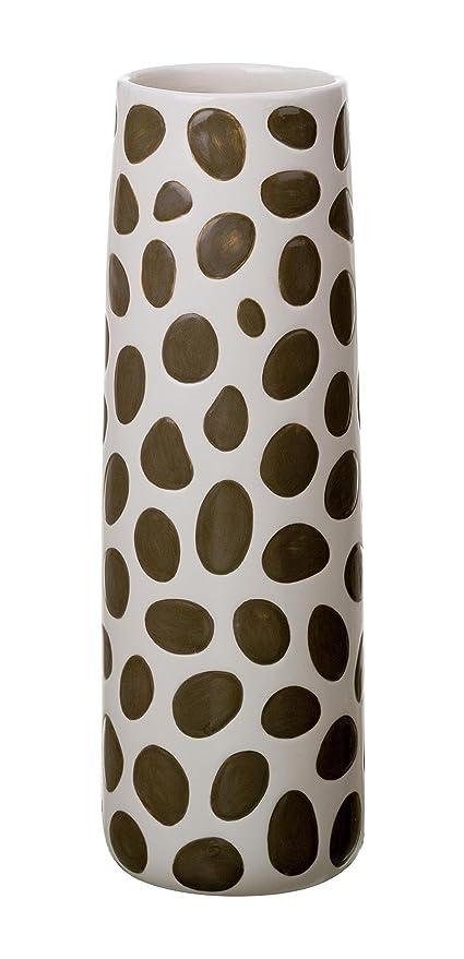 Amazon Transpac Animal Spot Print Vase Home Kitchen