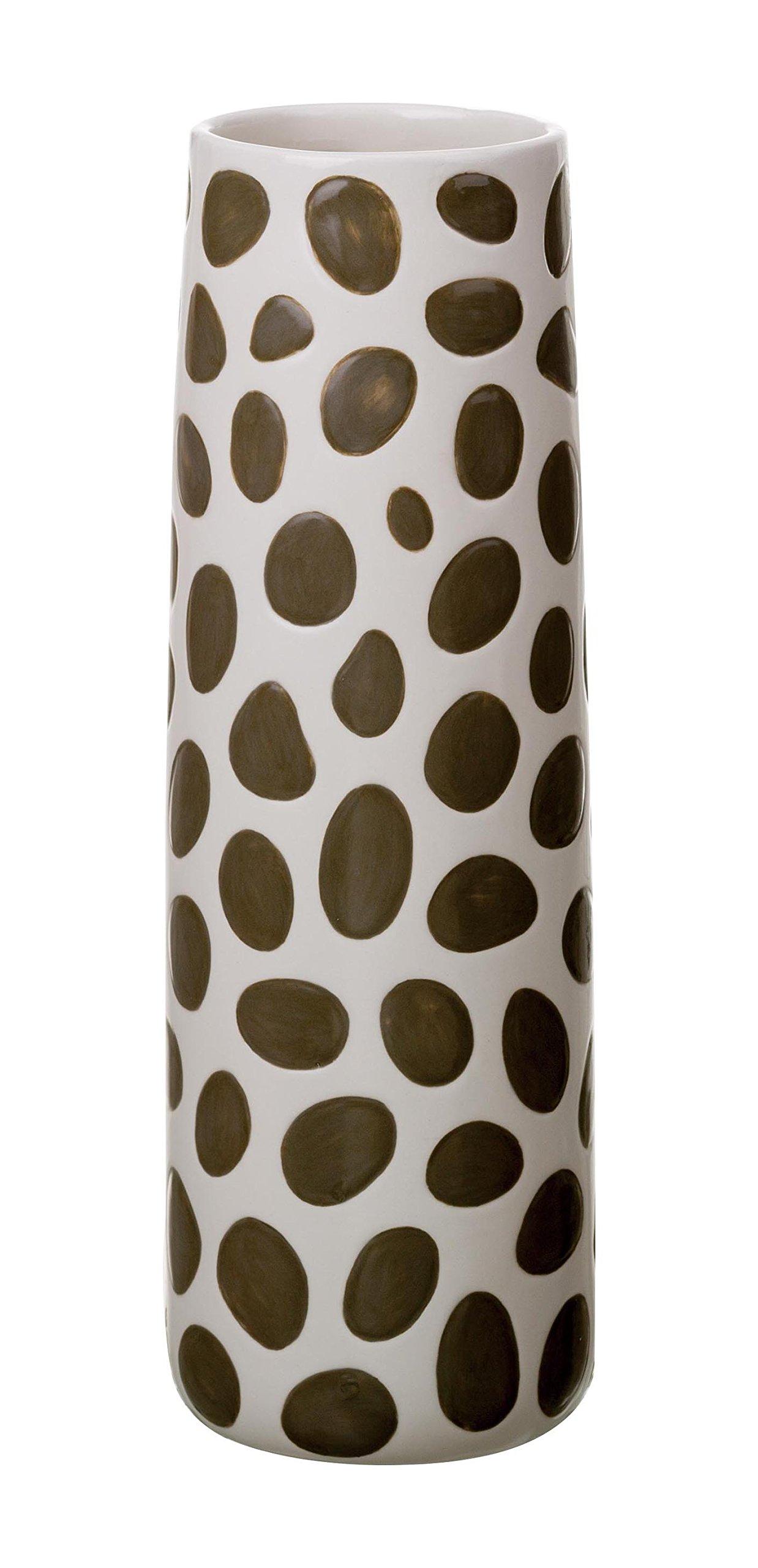 Transpac Animal Spot Print Vase