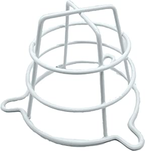 """(4 Pack) GREATEST PRODUCTS White Fire Sprinkler Head Guard for Both 1/2"""" & 3/4"""" Sprinkler Head for Protecting Flush Mount & Side Wall & Semi - Recessed Sprinkler Head Cover - Hardware Included!"""
