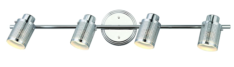 CANARM LTD. IT356A02BPT10 James 電球2個用 トラック照明 4 light IT477A04CH10 1 B00EANK3W8 4 light|クロム クロム 4 light