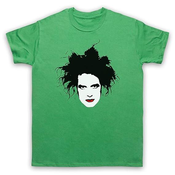 Inspiriert durch Cure Robert Smith Unofficial Herren T-Shirt: Amazon.de:  Bekleidung