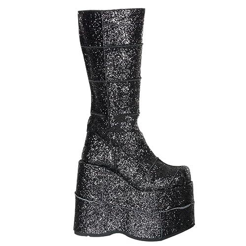 94741d4a2b0bf Demonia Stack-301G - gothic punk industrial glamour drag queen mega ...