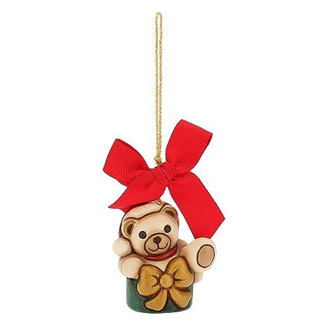 Thun Mini Orso Teddy Nel Pacchetto Da Appendere Addobbo