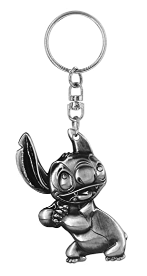 Monogram Lilo & Stitch: Stitch Pewter Llavero: Amazon.es ...