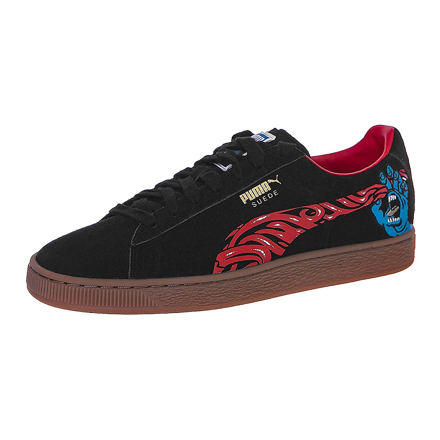 e4c6cefe269 Puma X Santa Cruz - Sneakers - Suede Classic Black (8 UK)  Amazon.co.uk   Shoes   Bags