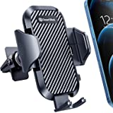 DesertWest Car Phone Mount [2021 Upgraded Clip] Universal Air Vent Cell Phone Holder for Car [Thick Case Friendly] Compatible