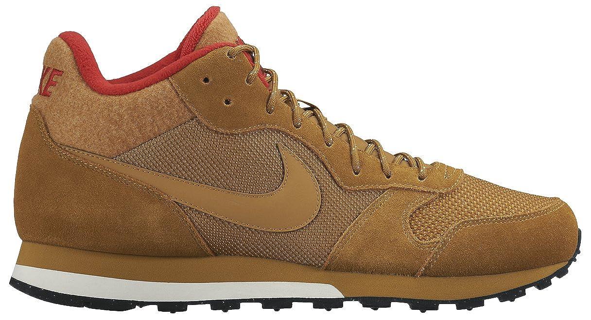Nike Md Runner 2 Mid Premium marron, baskets mode homme