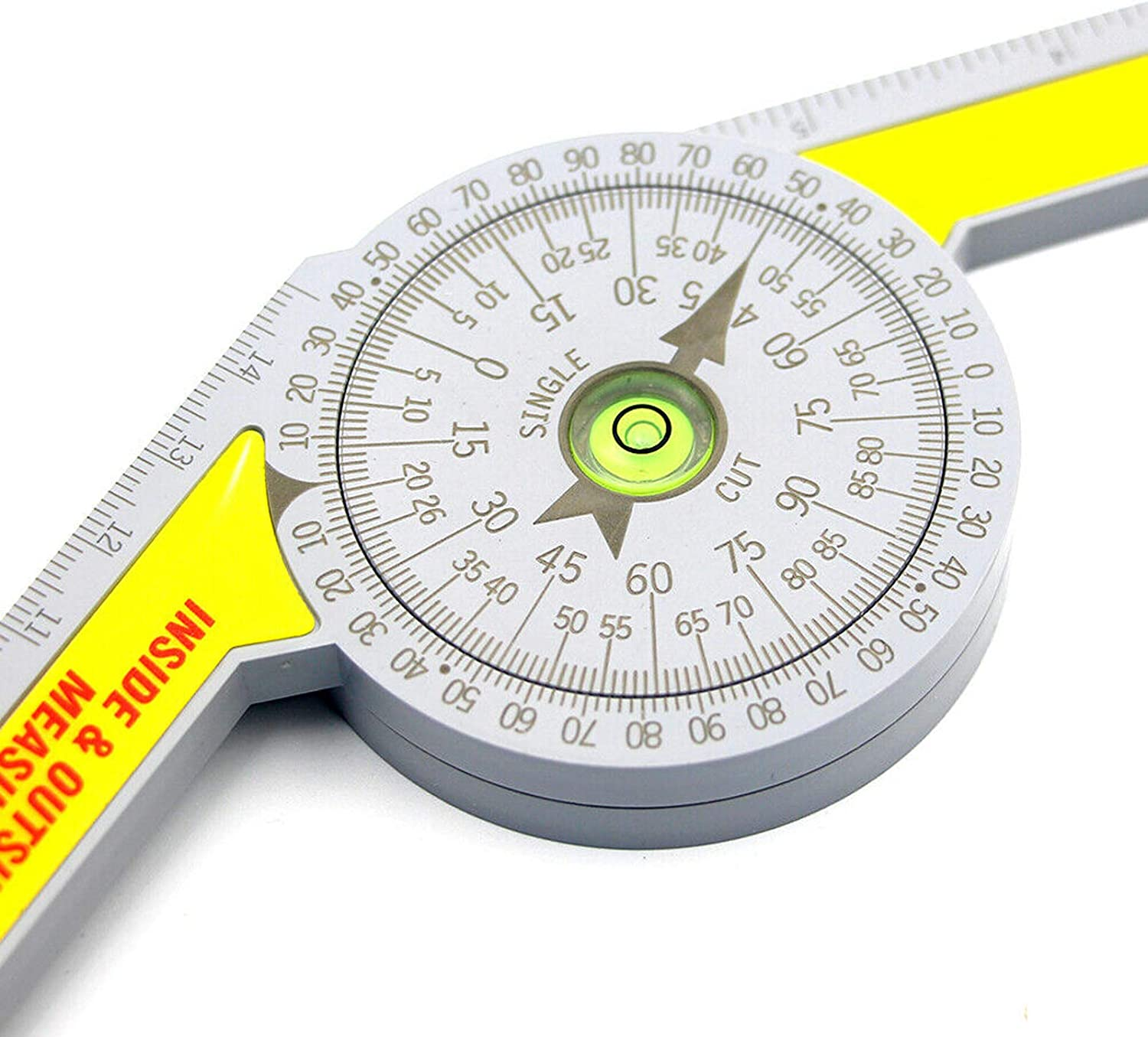 Corner Angle Finder Angle Measure Tool Carpentry Tools with High Precision Rectangular Horizontal Bubble Level Mitre Protractor Mitre Angle Finder Tool