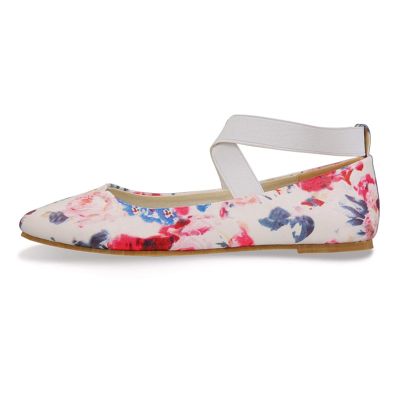 503873c64c39a Details about Size: 7-7.5 B(M) US CINAK Comfortable Classic Flats Women's  Shoes Black Walking