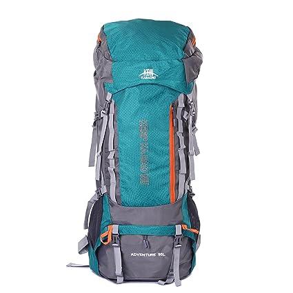 Mooedcoe 95L Mochila Trekking Senderismo Grande Mochila Montaña Hombre Impermeable de Viaje Acampada Excursionismo Alpinismo (