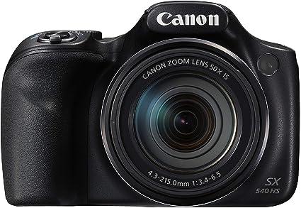 Canon PowerShot SX540 HS - Cámara digital de 20.3 Mp (pantalla de ...