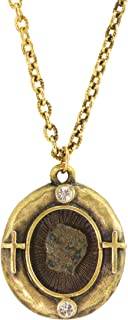 product image for American Coin Treasures Gold Tone Widow's Mite Coin Pendant With Verse