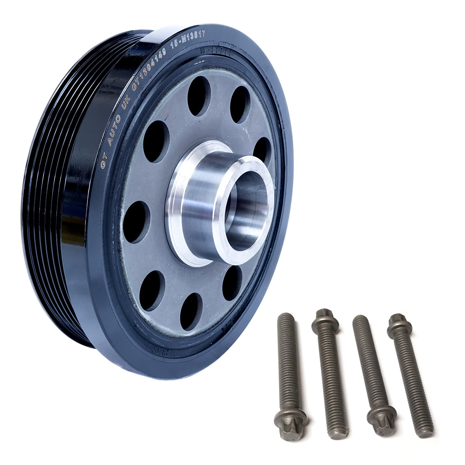 GT Automotive GT1304049K Crankshaft Pulley Vibration Damper Kit GT Automotive England Ltd