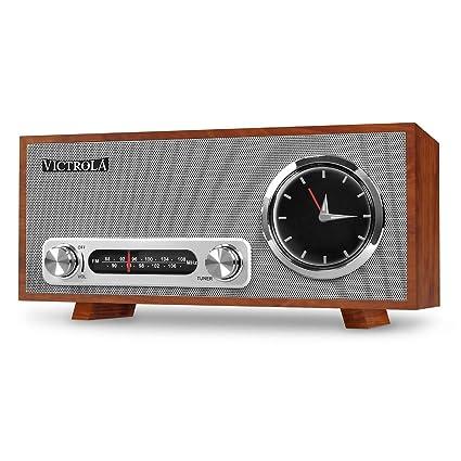 Victrola Broadway Bluetooth Radio - Reloj Despertador Con Pantalla ...