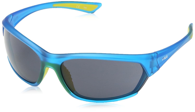 Fila Herren Sonnenbrille SF9022, Gelb (Peach), Einheitsgröße