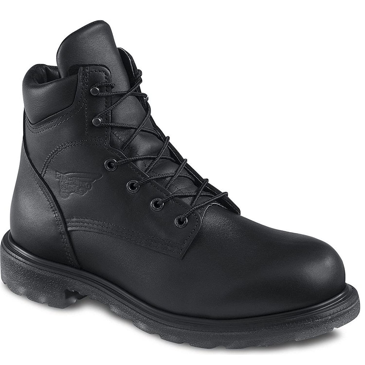 Red Wing 607 Men's 6-inch Boot Black