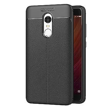 AICEK Funda Xiaomi Redmi Note 4, Redmi Note 4 Funda Negro Gel de Silicona Xiaomi Redmi Note 4 Carcasa Funda (5,5 Pulgadas)