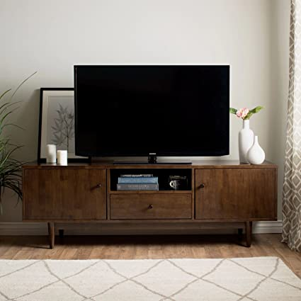 Amazon Com Mfr Furniture Mid Century Modern Tv Stand Provides Retro