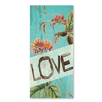 Amarillo Amor Flor toallas de playa para niños rápido secado Limpieza Toallas de baño de flores