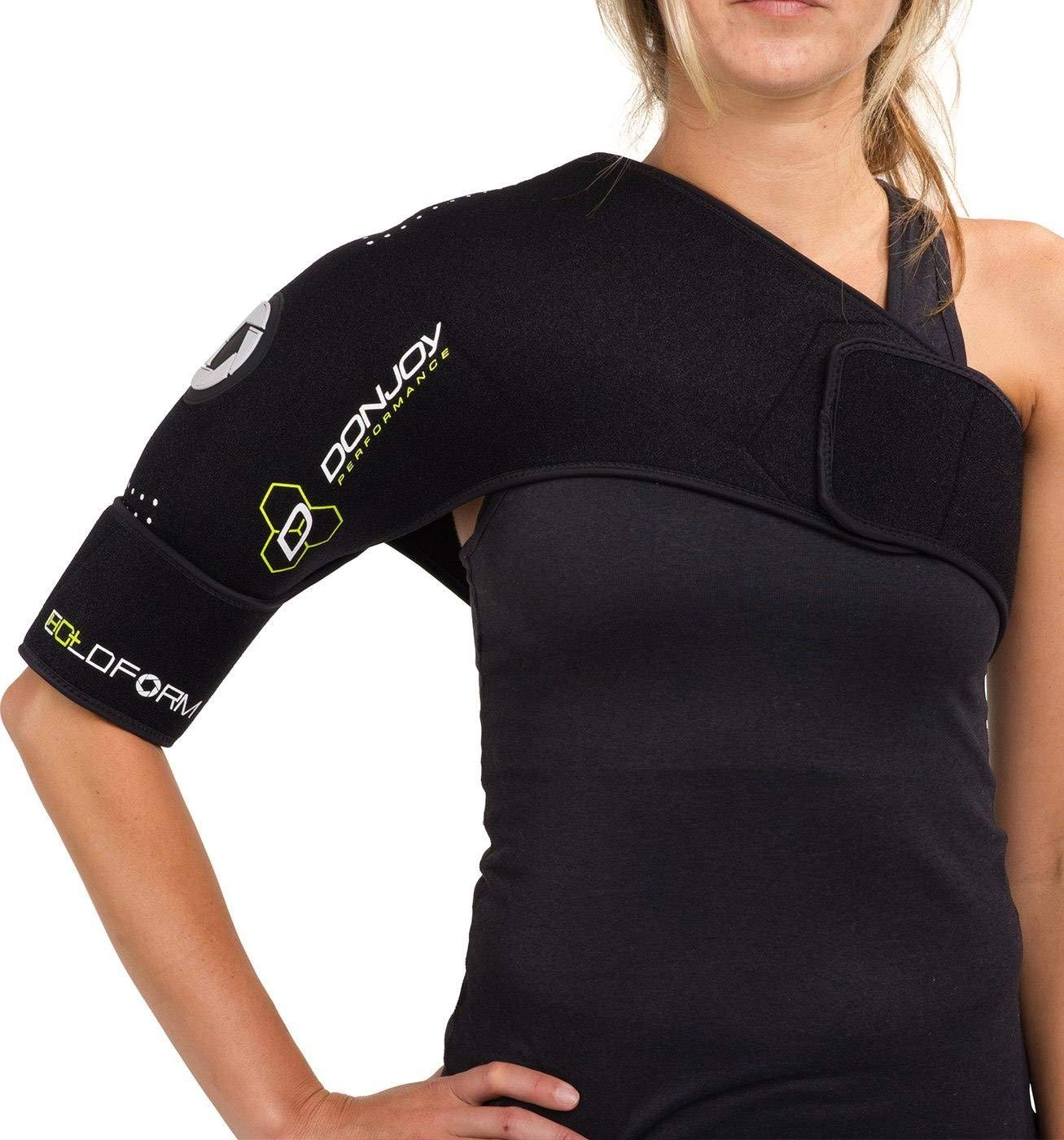DonJoy Performance COLDFORM Hot/Cold Therapy: Shoulder Compression Wrap, One Size Fits Most by DonJoy Performance