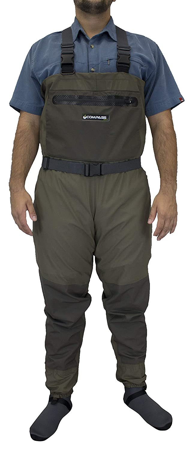 Compass 360 Deadfall Stockingfoot Breathable Fishing Chest Wader