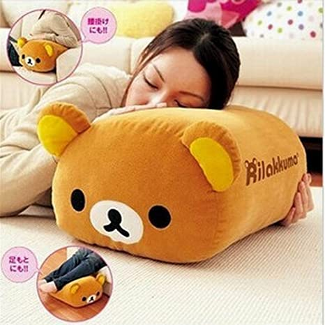 Amazon.com: Rilakkuma Multi Purpose Resto Cojín de peluche ...