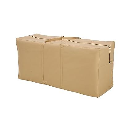 Amazon Com Classic Accessories Terrazzo Patio Seat Cushion Cover