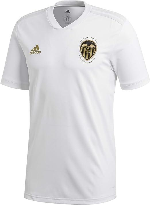 adidas VCF H JSY - Camiseta 1ª equipación Valencia CF, Hombre, Blanco(Blanco/Balcri): Amazon.es: Deportes y aire libre