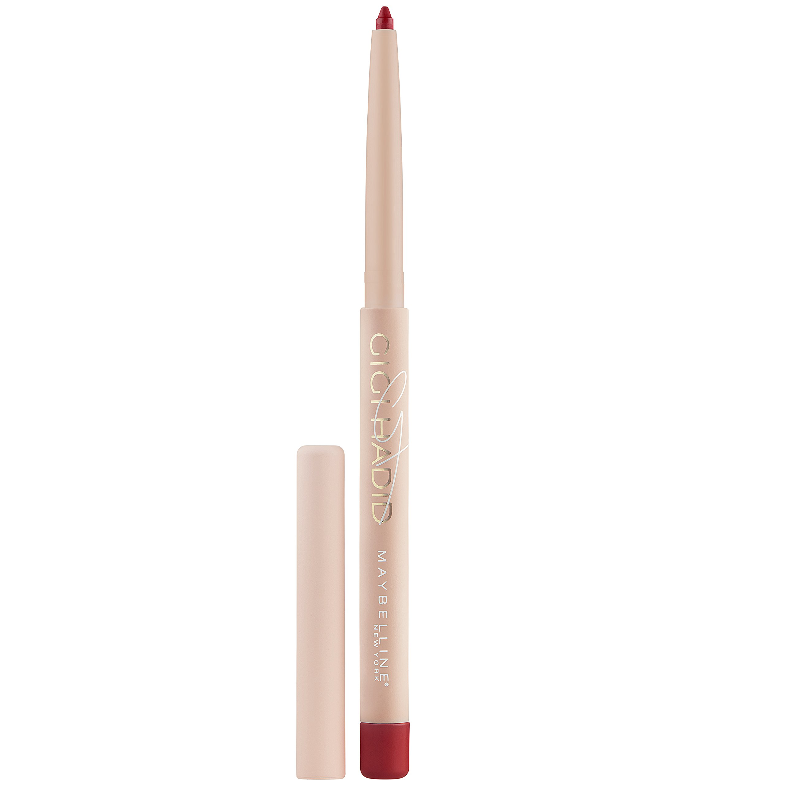 Maybelline New York Gigi Hadid Matte Lipstick Lani Ql Cosmetic Eyebrow Cream 15 Gr Lip Liner 001 Ounce